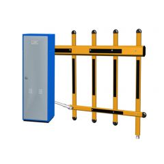 Fence boom barrier gate, self-design and manufacture, highly integrated mechanism and control system, 100% heavy duty operation. Adopts high quality galvanized steel and high class imported traffic powder coated. Dustproof, rainproof and rustproof design,