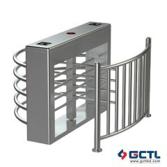 Rfid Control half height tripod turnstile gate
