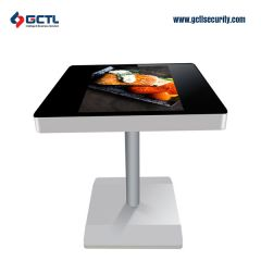 21.5 inch indoor restaurant self service ordering touch table kiosk