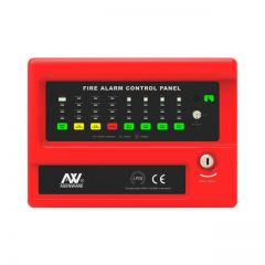Asenware Conventional 8 Zone  Fire  Alarm  Control  Panel