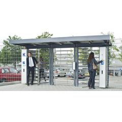 Automatic Full Height Turnstile Access Control System