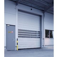 Automatic High Speed PVC Roller Shutter Door