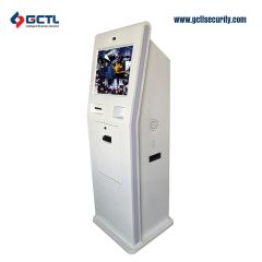Interactive bank payment touch screen kiosk system