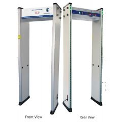 Body Temperature Measurement Walk Through Metal Detector