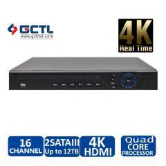 Dahua NVR4216-4KS2 16 Channel NVR Network Video Recorder
