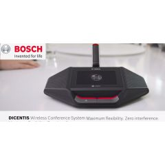 Bosch DICENTIS Wireless Conference System in bd