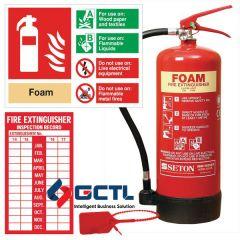 Foam fire extinguisher in Bangladesh (9 Liter)