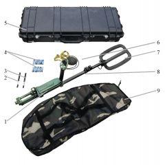 Handheld Selective Inductive Mine Detector
