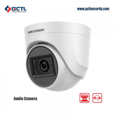 Hikvision DS-2CE76D0T-ITPFS HD 2MP 4in1 Dome Audio Camera