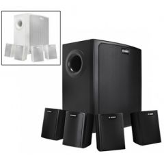 Bosch LB6-100S-D 100W SPEAKER. 1 x WOOFER & 4 x SPEAKER. WALL MOUNT. BLACK COLOR in Bangladesh