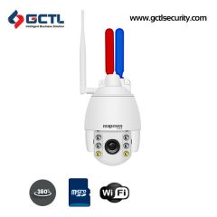 MAPESEN MP-B306I205L-WTA2 Flashing Alarm WiFi SD Card PTZ Camera