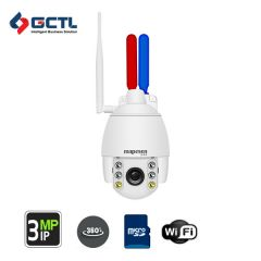 MAPESEN MP-B306I302L-WTA2 Flashing Alarm WiFi SD Card PTZ Camera