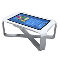 Multi Touch Screen Table 84inch kiosk Display