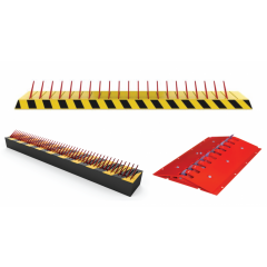 One Way Parking Lot Spike Strip Tire Killer Traffic Safety Equipment in Bangladesh