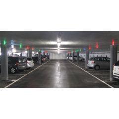 Ultrasonic Sensor car parking guidance system