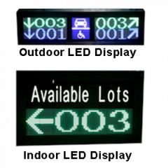 Parking Guigence LED Display