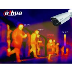 Dahua Thermal imaging Body Temperature IP Bullet Camera