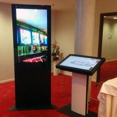 information Wayfinding information kiosk solution and Welcoming Digital Screen