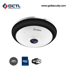 MAPESEN VR-T1E4I300-WTA2 360 Degree Panoramic WiFi SD I TF Card Dome Camera