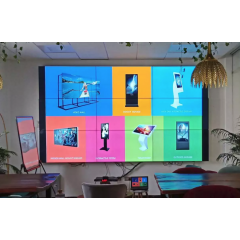 Wall Mount LED Advertising Display Kiosk