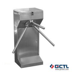 WEJOIN WJTS122S Stainless Steel Semi-automatic Tripod Turnstile For Metro Station