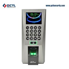 Fingerprint Standalone Access Control and Time Attendance ZK F18  front image