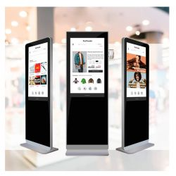 43 inch floor stands multimedia Advertising player
