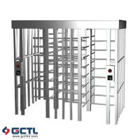 Full Height Turnstiles gates OEM electric Dual access