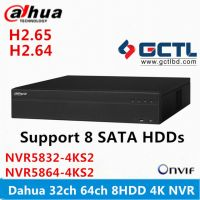 Dahua NVR5832-4KS2 32CH 64CH 8 SATA Network Video Recorder