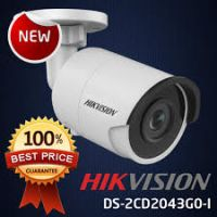 Hikvision DS-2CD2043G0-I 4MP IP Network Bullet Camera with Night Vision & 4mm Lens