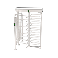 Full Height Turnstile with Fingerprint and RFID Access Control System in Bangladesh