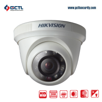 HIKVISION DS-2CE56C0T-IRPF HD 1MP CCTV Dome Camera