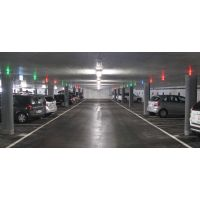 Ultrasonic Sensor car parking guidance system