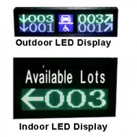 Parking Guigence LED Display