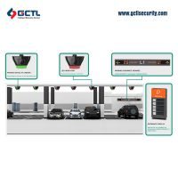 Smart Ultrasonic  car parking guidance system