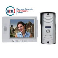 Video Door Phone 7inch monitor with Audio doorphone facility system