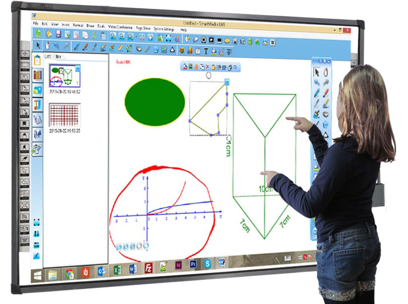 Interactive Touch Screen WhiteBoard