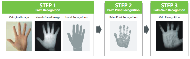 How does Near Infrared Palm Recognition Works?