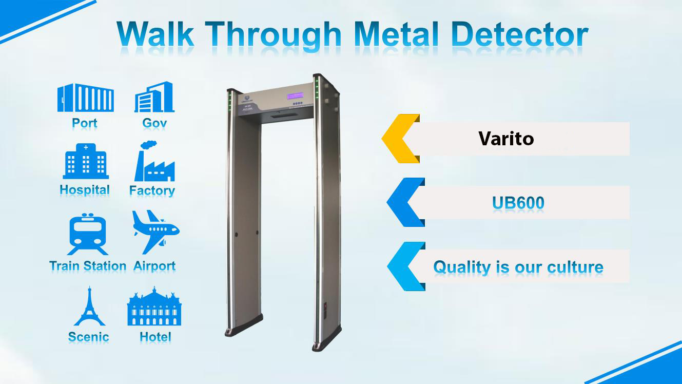 Archway Metal Detector Security Gate Price in Bangladesh