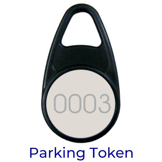 Car Park Self Ticketing Token