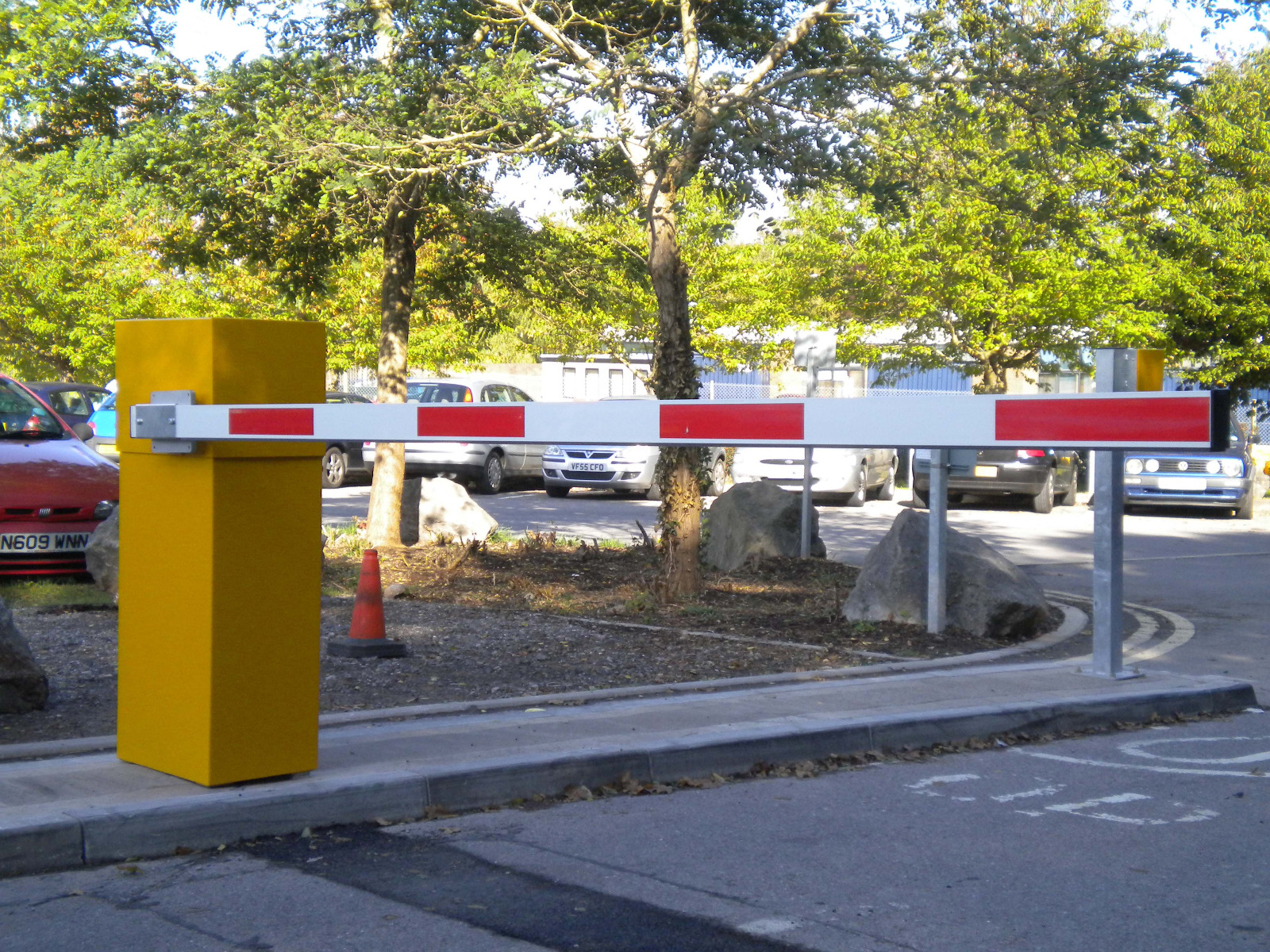 Car park barrier Gate