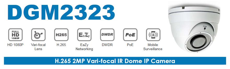 AVTECH 2MP VARI-FOCAL IR DOME IP