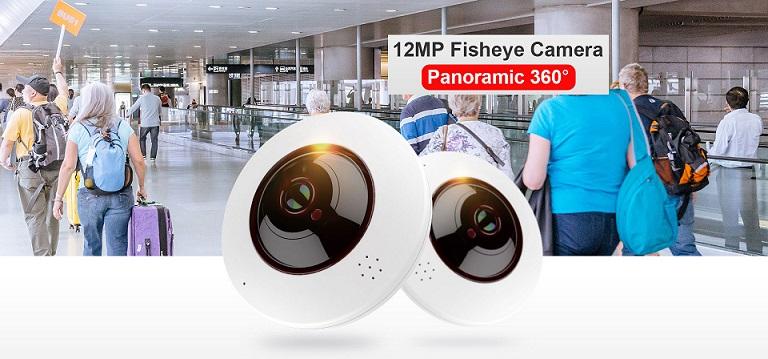 panoramic fisheye camera