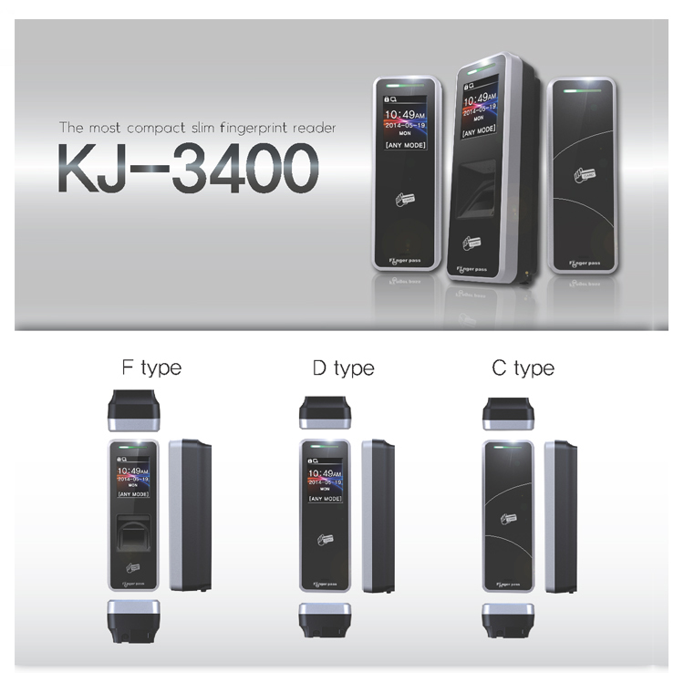 KJ TECH Finger Pass Biometrics Fingerprint Access Control System