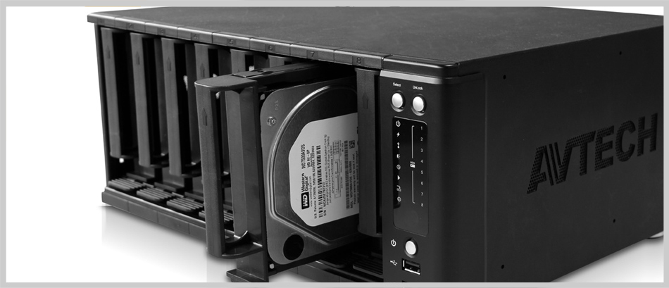 Avtech 8bay storage NVR