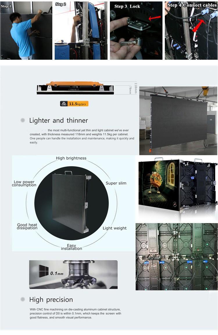 Outdoor p6, p8 Digital LED Advertising display module