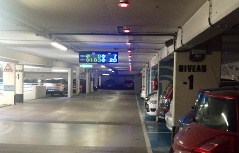Parking Guigence LED Display indoor