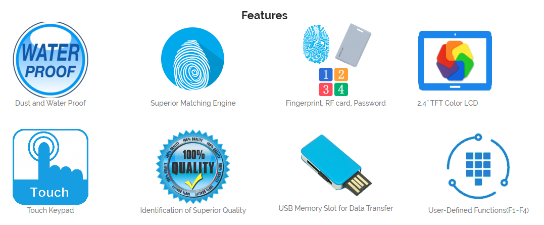 eNBioAccess-T3-features