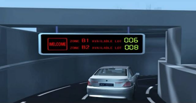 intelligent car parking guidance system Solutions